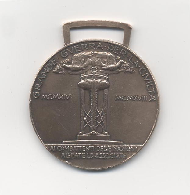 medaglia GG retro pulita