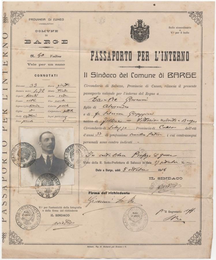passaporto per l'interno 2