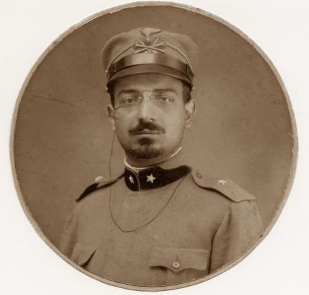 Adolfo Omodeo seppia