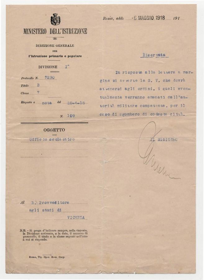 Bruzzo maggio 1918