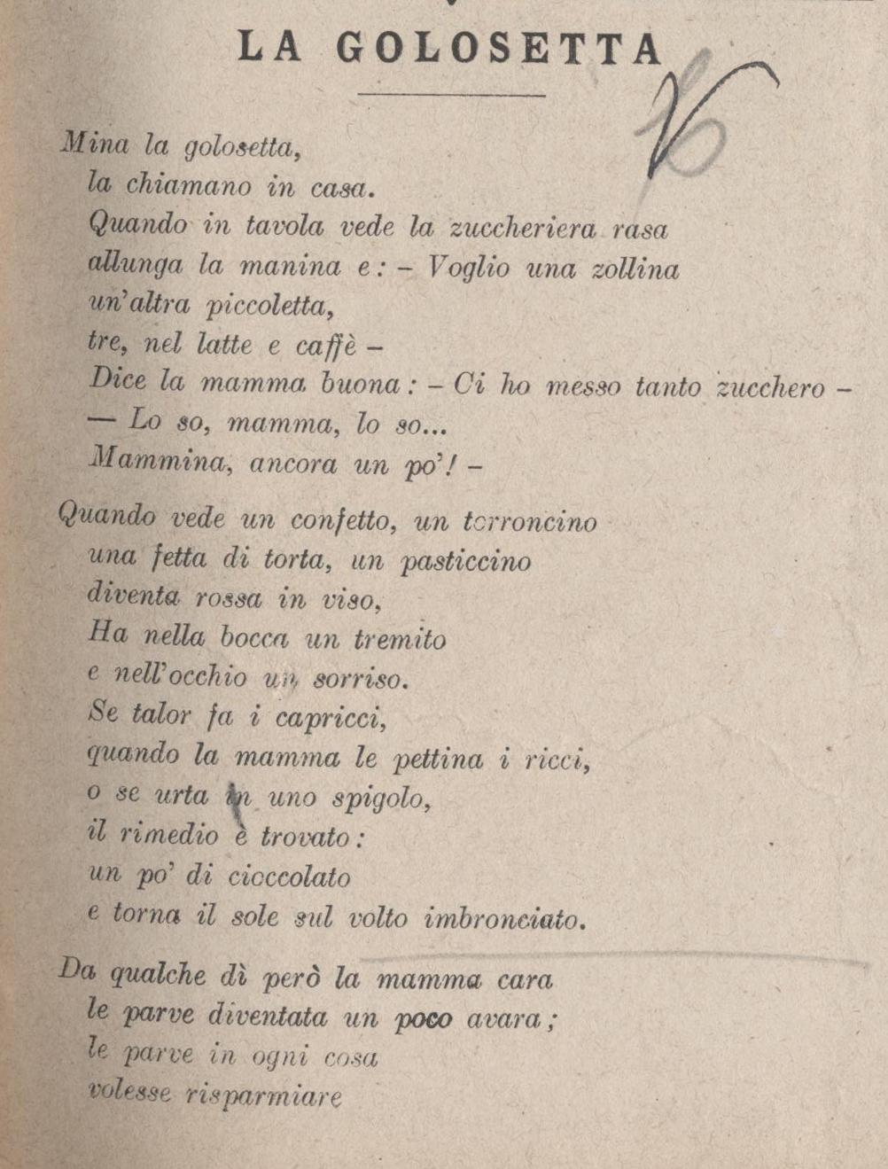 Novellino 1917 golosetta primo