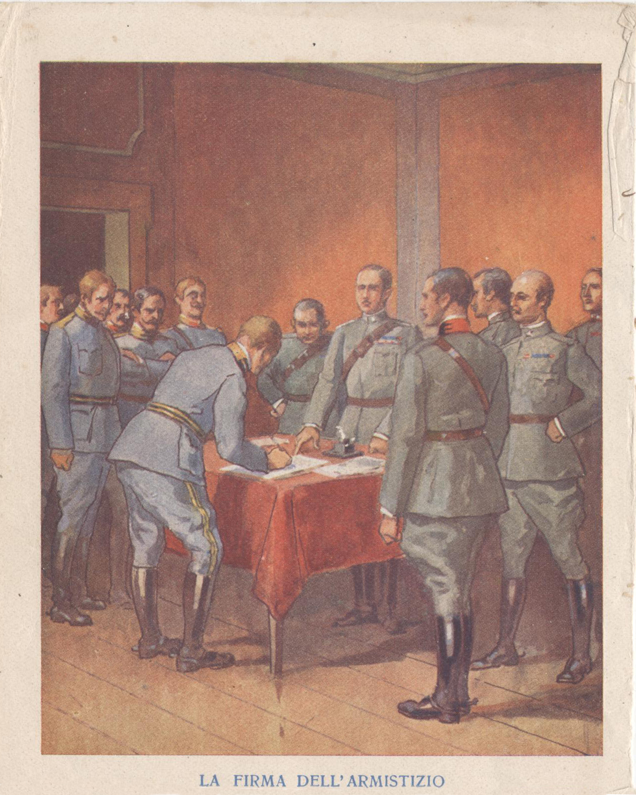 firma armistizio