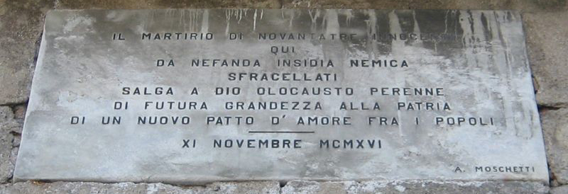 cappella_lapide_esterna 1916